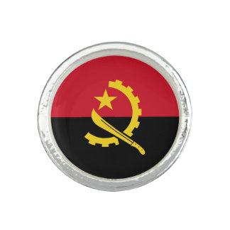 Anillos Bandera angolana patriótica