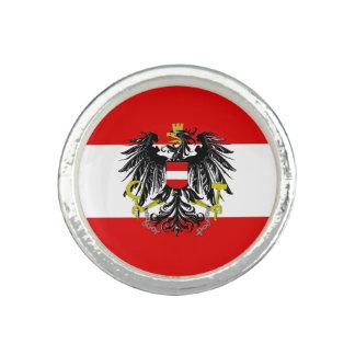 Anillos Bandera austríaca