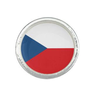 Anillos Bandera patriótica de la República Checa