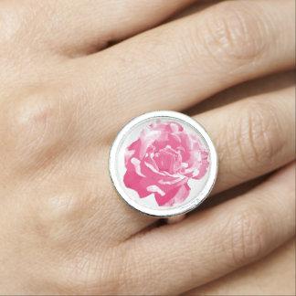 Anillos Con Foto Diseño rosado del rosa