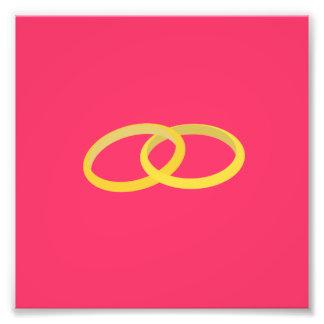 anillos conectados arte con fotos