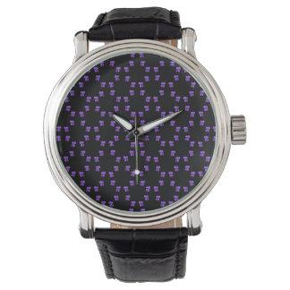 Anillos de violetas relojes de mano