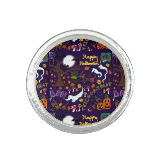 Anillos Halloween del Dachshund de la diva