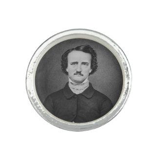 Anillos Retrato de la foto de Edgar Allan Poe - de Brady