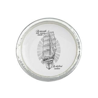 Anillos Tatuaje de los marineros de la nave