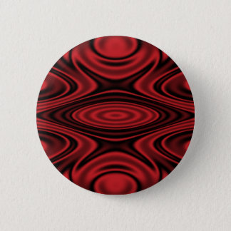 Anillos y ondulaciones rojos chapa redonda de 5 cm