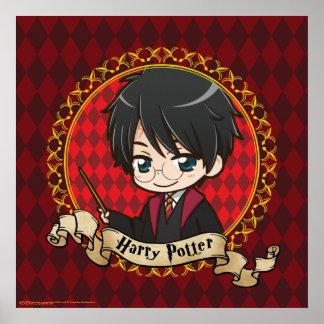 Animado Harry Potter Póster
