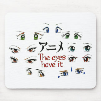 Animado: Los ojos lo tienen Alfombrilla De Ratón