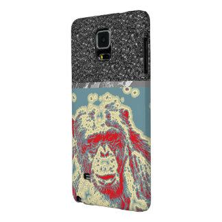 animal abstracto - chimpancé funda galaxy note 4