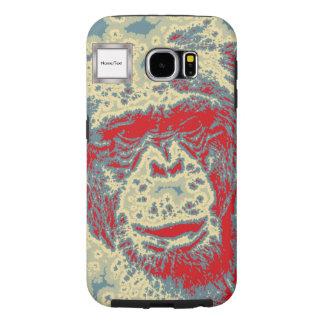 animal abstracto - chimpancé fundas samsung galaxy s6