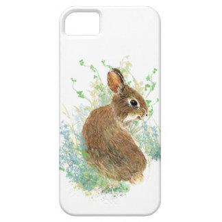 Animal de mascota lindo del conejo de conejito de  iPhone 5 fundas