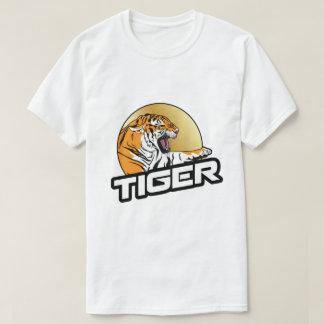 Animal del gato montés del león del tigre camiseta