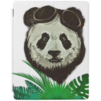 Animal del oso de panda del inconformista cubierta de iPad