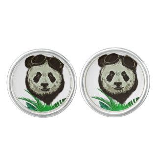 Animal del oso de panda del inconformista gemelos
