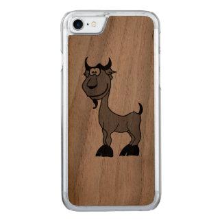 Animal del zodiaco del Capricornio de la cabra Funda Para iPhone 8/7 De Carved