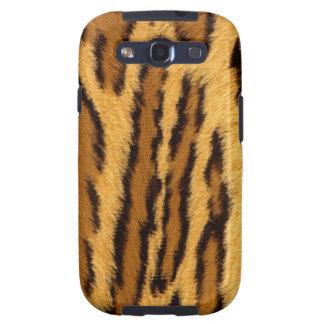 Animal exótico de la pinta del leopardo galaxy s3 cárcasa