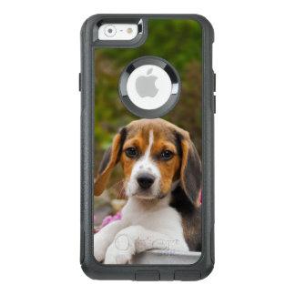 Animal lindo de la foto del perrito del perro del funda otterbox para iPhone 6/6s
