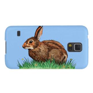 animal lindo del conejo carcasas de galaxy s5