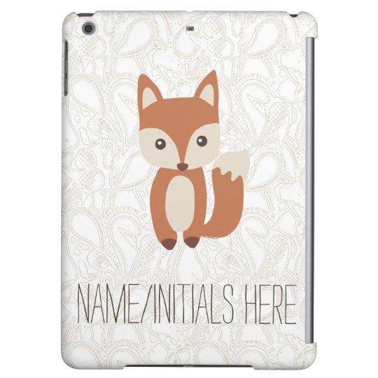 Animal lindo personalizado del Fox del bebé