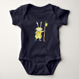 Animal mágico con el mono del bebé de la linterna body para bebé