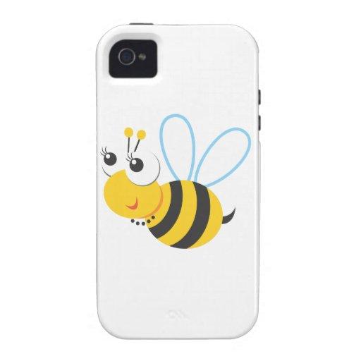 Animales - abeja Case-Mate iPhone 4 carcasa