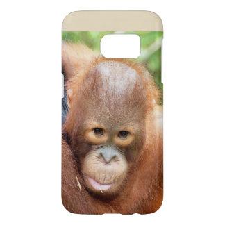 Animales de Borneo del orangután de Karbank Funda Samsung Galaxy S7