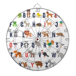 ¡Animales del alfabeto - lindo estupendo! Tabla Dardos