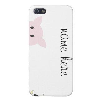Animales del campo iPhone 5 cárcasas