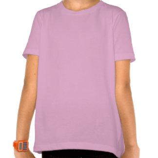 Animales del safari de los chicas camiseta