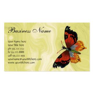 Animales salvajes del vintage, insectos, insectos, plantilla de tarjeta de negocio