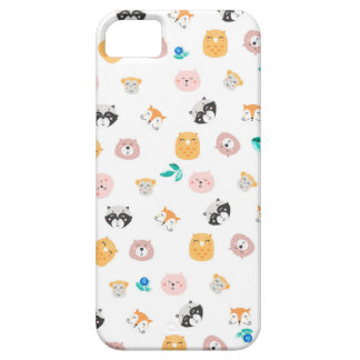 Animals face funda para iPhone SE/5/5s