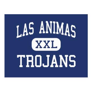 Animas de Las - Trojan - altos - Animas Colorado d Tarjeta Postal