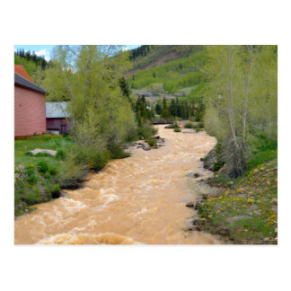 Animas río, Silverton, Colorado Postal