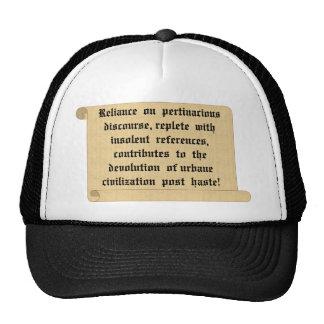 Anime a cada uno que sea civilizado gorras de camionero