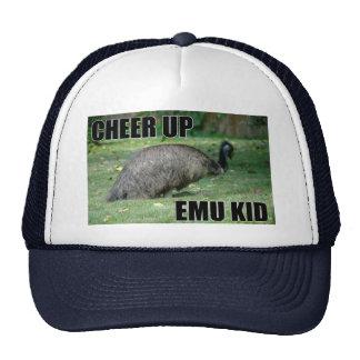 Anime para arriba el gorra del niño del Emu