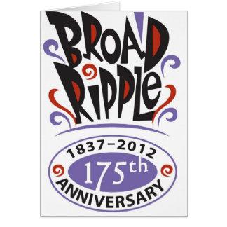 Aniversario 175 tarjeta de felicitación