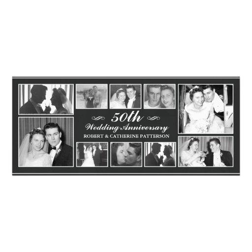 Aniversario de boda de la celebración 50.a de la f anuncios personalizados