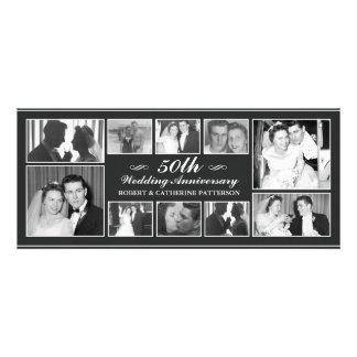 Aniversario de boda de la celebración 50 a de la f invitación
