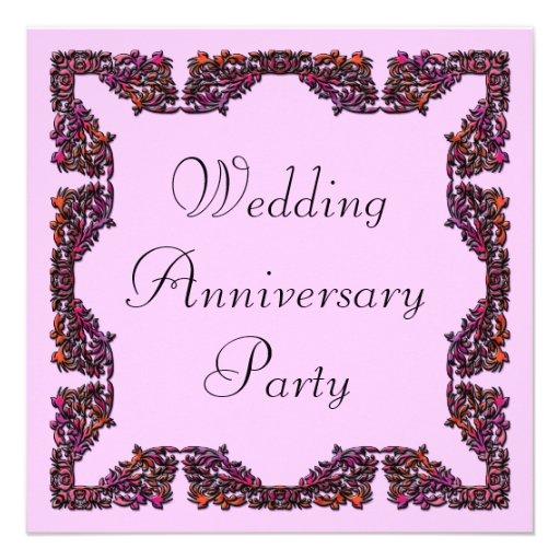 Aniversario de boda anuncio