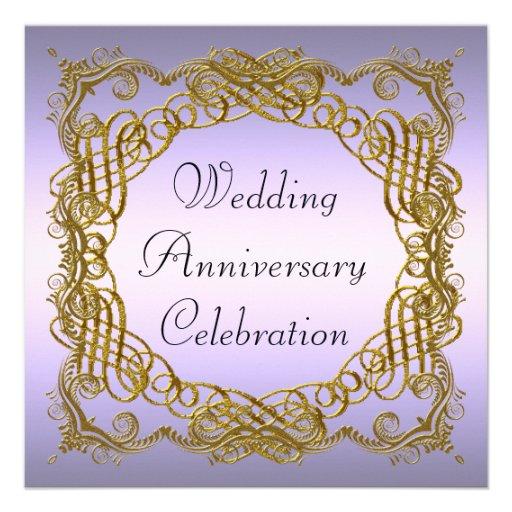Aniversario de boda invitaciones personalizada