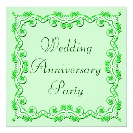 Aniversario de boda invitacion personalizada
