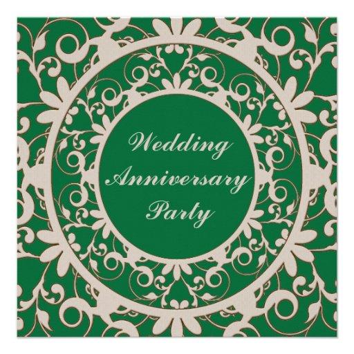 Aniversario de boda invitaciones personales