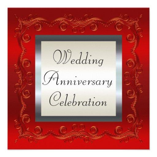 Aniversario de boda comunicados personales
