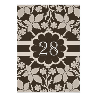 aniversario de boda retro invitación 12,7 x 17,8 cm