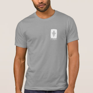 Aniversario de Furst 50.o - hombres blancos para Camiseta