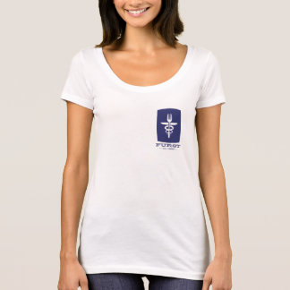 Aniversario de Furst 50.o - mujeres azules Camiseta