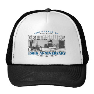 Aniversario de la batalla 150 de Gettysburg Gorro De Camionero