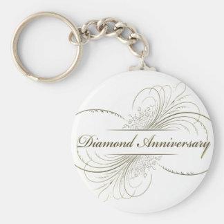 Aniversario del diamante llavero