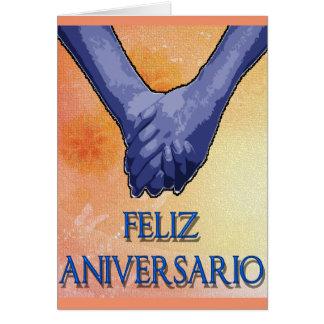 aniversario del feliz tarjeta de felicitación