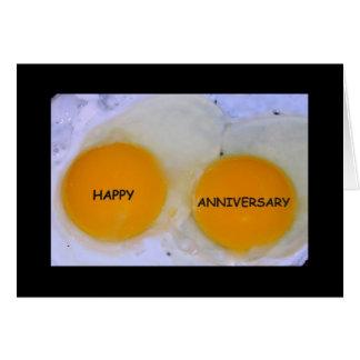 Aniversario feliz a un par del Special del Tarjeta De Felicitación